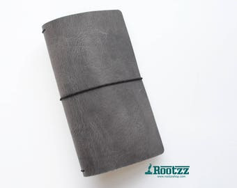 RG XL Traveler's notebook Black - midori like- fauxdori