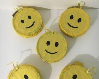 Mini Happy Faces Pinatas
