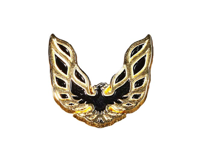 Trans Am Firebird Gold Enamel Pin