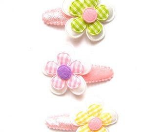 "Hair clip for baby & girl ""PHILIPPA"" - french Baby Hair Clip"