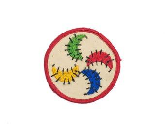 Color Wheel Vintage Patch