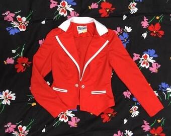 AHoy! Red suit coat