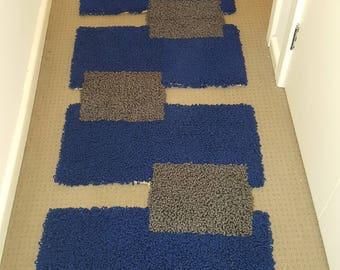Hand made Wool Home Office Decor Walk way Rug Mat Runner