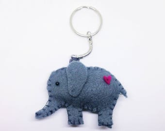 Nelly the Elephant Keyring