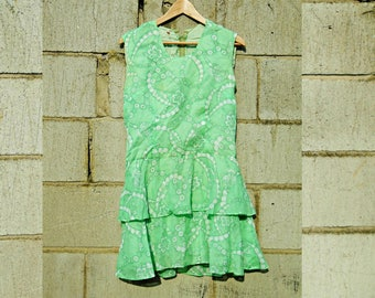 Vintage Dress - Ra Ra Dress - Ra Ra Skirt - Sleeveless Dress - Summer Dress - Festival Dress