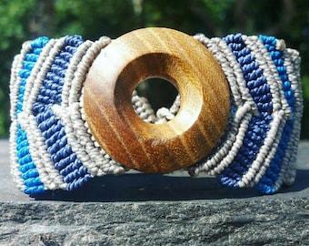 Mixed man and woman micro macrame bracelet