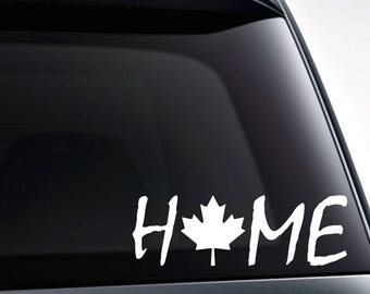 Maple Leaf Decal Etsy - Vinyl decal stickers canada