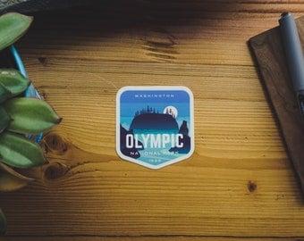 Olympic National Park - Vinyl Sticker