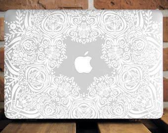 Mandala Macbook Pro Retina 15 Inch Case Clear Macbook Pro Case MacBook Air Cover MacBook 12 Case Plastic Laptop Cover Macbook Case WCm079