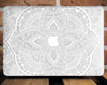 Mandala MacBook 12 Cover Mac Pro 15 Cover MacBook Pro Retina Case MacBook Hard Cover MacBook Pro 13 Case Mac Air Case Gift For Him WCm080