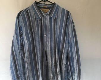 Men's 90's button down  shirt