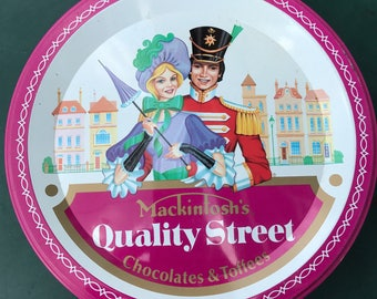 Vintage Mackintosh's Quality Street Tin