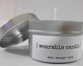 Wearable Candle (6 oz)- Chai Tea scent
