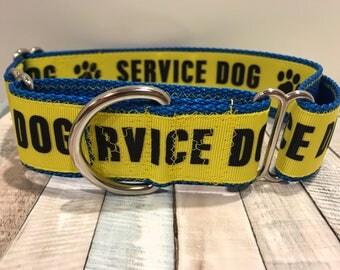 Martingale dog collar, Martingale, Martingale collar, Martingale greyhound collar, service dog collar, service dog martingale, dog collar