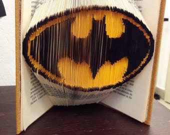Batman - Folded book colorized