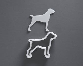 German shorthaired pointer cookie cutter, dog breed cookies, custom pet treat