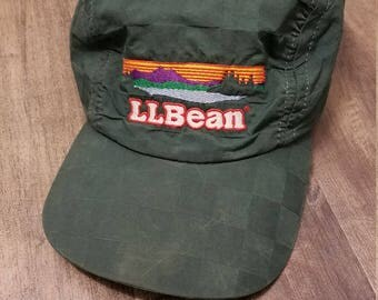 Vintage LL Bean Embroidered Hat