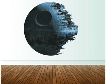 Death Star Wall Decal Star Wars Wall Decor