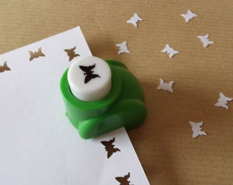A hole punch Butterfly scrapbooking pattern