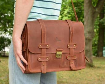Leather messenger bag, leather messenger bag men, leather bag, leather messenger bag women, mens leather messenger bag, leather laptop bag