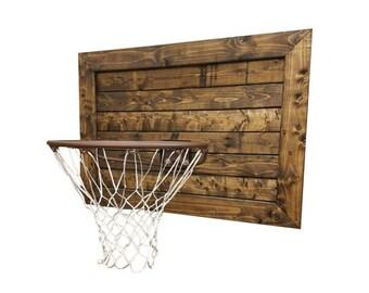 Rustic Basketball Goal