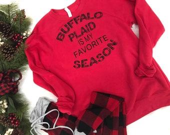 Buffalo Plaid is my Favorite Season