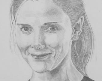Louise Brealey Pencil [PRINT]