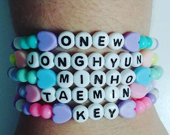 Shinee Kpop bracelets