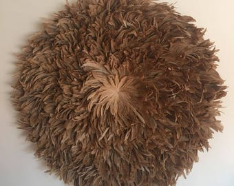 Juju Hat Style Wall Hanging - XL 1m Camel Brown **PRE-ORDER**