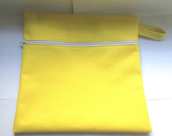 Wet Dry Bag for your Diapers, Swimsuit or Gym Clothes