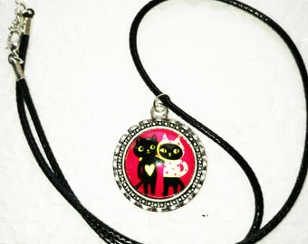 Best Cat Friends Necklace