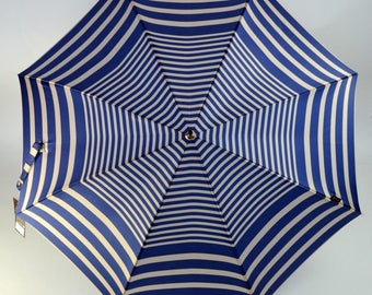 Umbrella Piganiol sailor printed satin