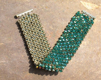 Fire Polished Bling Bling Bracelet
