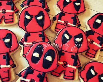 Deadpool Cookies