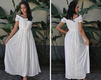 Maternity Dresses, White Dress, Wedding Dress, Summer Dress, Baby Shower  Dress,