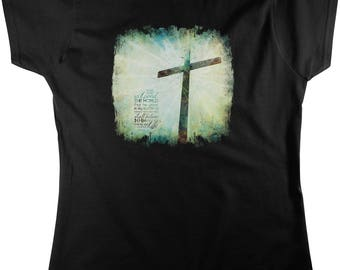 For God So LOVED The World..., John 3:16 Women's T-shirt, NOFO_01060