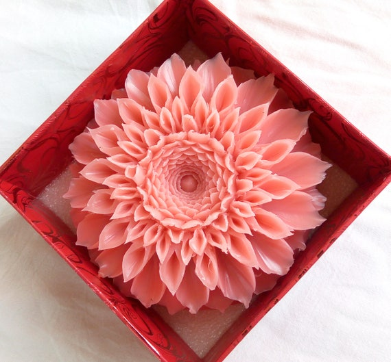 Soap carving video tutorial flower
