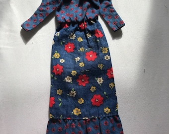 Vintage Barbie Best Buy Peasant Dress