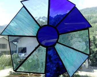 SunCatcher glass blue acchiappasole welded