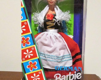 Mattel Vintage German Barbie Dolls of the World Collector Edition 1994 NIB