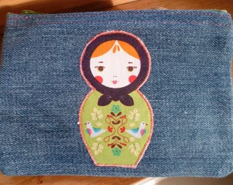 """LEA"" RUSSIAN DOLL PURSE"
