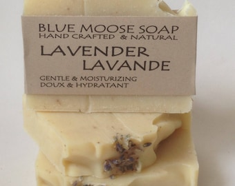 Lavender Soap - Handmade Soap, Natural Soap, Cold Process Soap, Vegan Soap