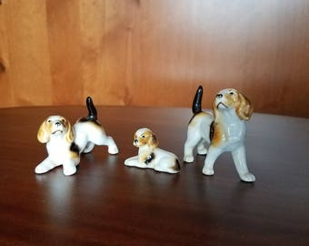 Hound Dog Figurines