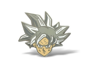 Ultra Instinct Goku Hard Enamel Pin