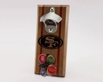 San Francisco 49ers Magnetic Bottle Opener