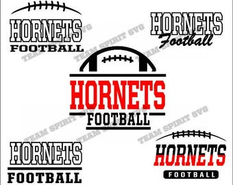 Hornets Football Bundle Download Files - SVG, DXF, EPS, Silhouette Studio, Vinyl  Files, Digital Cut Files -Use with Cricut and Silhouette