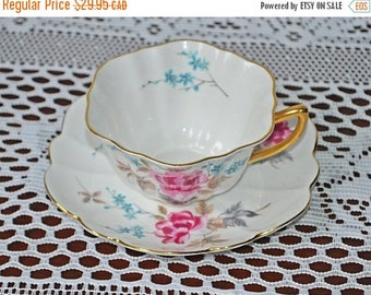 On Sale Shelley Teacup And Saucer, Second Ware 2466