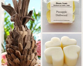Pineapple Driftwood - Soy Wax Melts - Fruity - Home Fragrance - Party Favour - Gift -