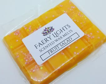 Wax Melts, Fruit Salad, Scented Wax Melts, Wax Tarts, Scented Wax, Home Fragrance, Suitable for use in any wax melter.