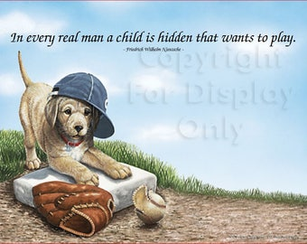 Puppy - A Child Is Hidden That Wants to Play - Art ID_Pup01